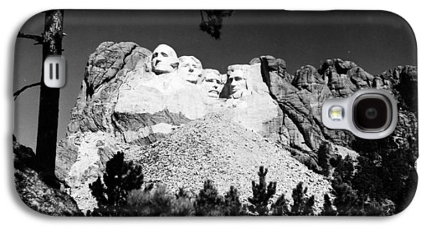 Statue Portrait Galaxy S4 Cases - Mount Rushmore Galaxy S4 Case by Granger