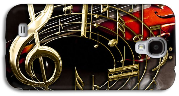 Musical Collection Galaxy S4 Case by Marvin Blaine