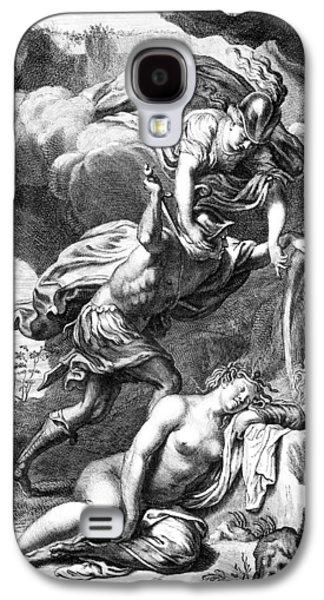 Mythology: Perseus Galaxy S4 Case
