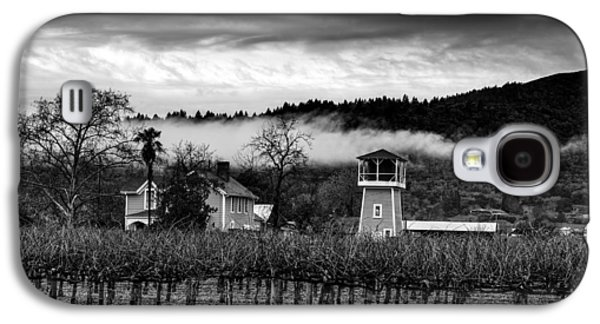 Napa Valley Vineyard On A Cloudy Day Galaxy S4 Case by Mountain Dreams