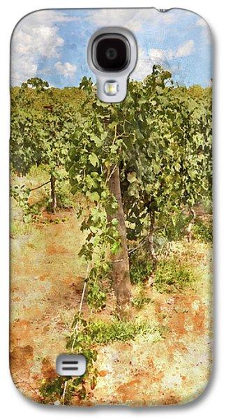 Napa Vineyard In The Spring Galaxy S4 Case