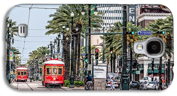 New Orleans Canal Street Streetcars Galaxy S4 Case