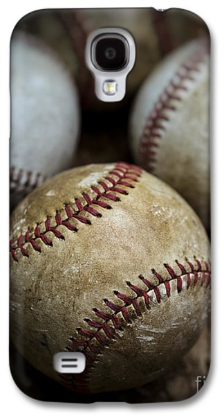 Old Baseball Galaxy S4 Case by Edward Fielding