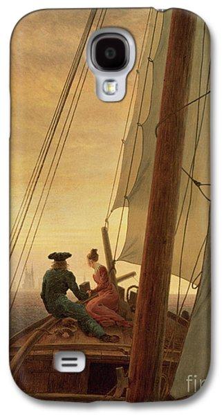On Board A Sailing Ship Galaxy S4 Case