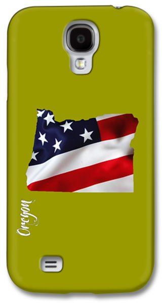 Oregon State Map Collection Galaxy S4 Case by Marvin Blaine