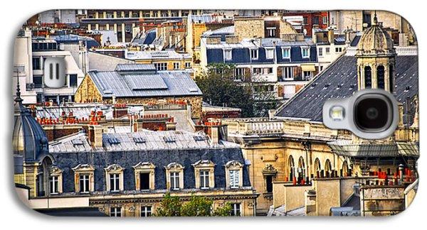 Paris Rooftops Galaxy S4 Case by Elena Elisseeva