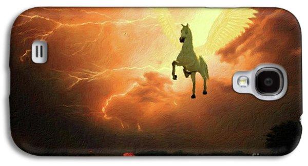 Pegasus By Mary Bassett Galaxy S4 Case