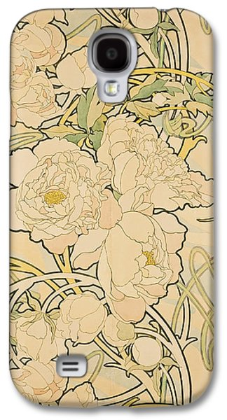 Peonies Galaxy S4 Case
