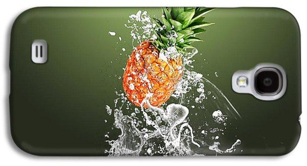 Pineapple Splash Galaxy S4 Case by Marvin Blaine