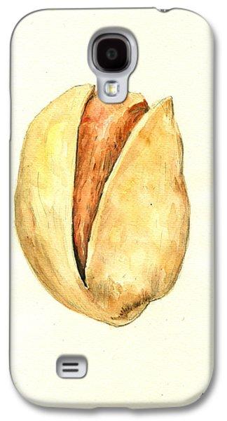 Pistachio Galaxy S4 Case by Juan  Bosco