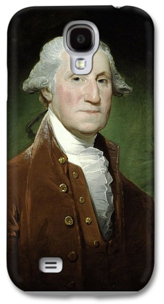 George Washington Galaxy S4 Cases - President George Washington Galaxy S4 Case by War Is Hell Store