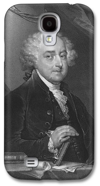President John Adams Galaxy S4 Case by War Is Hell Store