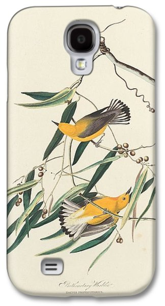 Warbler Galaxy S4 Case - Prothonotary Warbler by Dreyer Wildlife Print Collections
