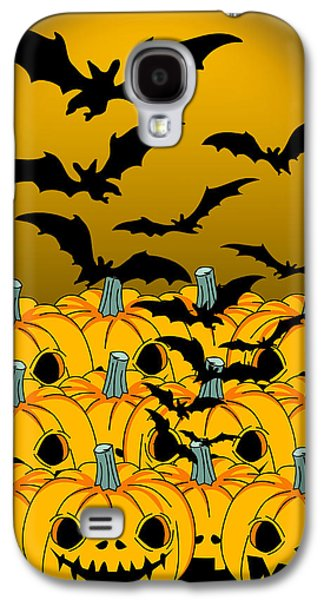 Pumpkin Galaxy S4 Case by Mark Ashkenazi