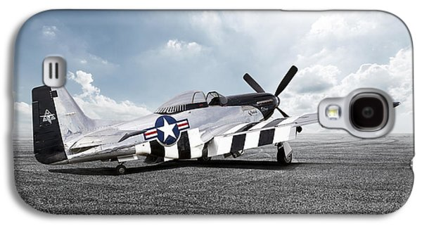 Quick Silver P-51 Galaxy S4 Case by Peter Chilelli