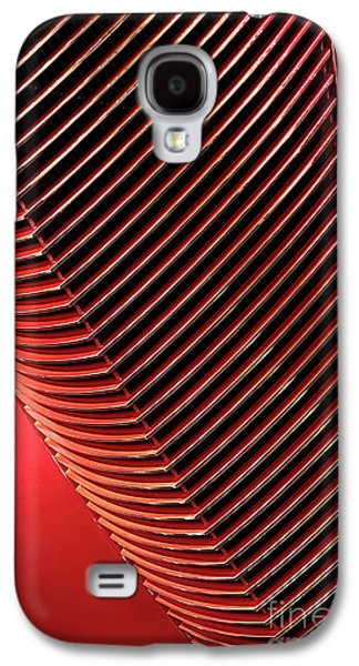 Red Classic Car Details Galaxy S4 Case