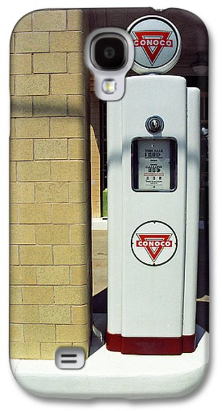 Business Galaxy S4 Cases - Route 66 Vintage Gas Pump Galaxy S4 Case by Frank Romeo