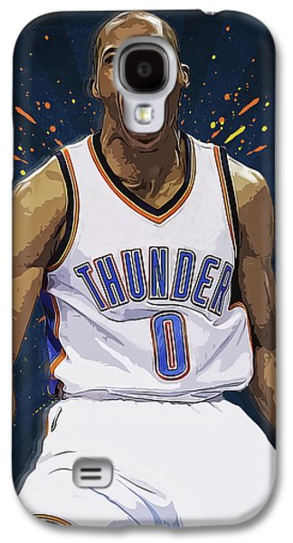 Russell Westbrook Galaxy S4 Case