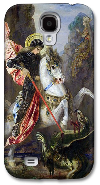 Saint George And The Dragon Galaxy S4 Case by Gustave Moreau