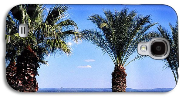 Sea Of Galilee From  Mount Of The Beatitudes Galaxy S4 Case by Thomas R Fletcher