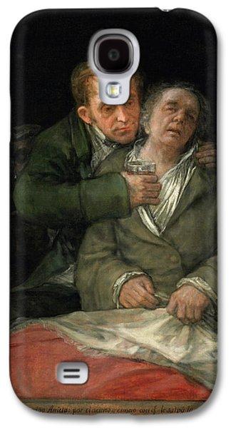 Self-portrait With Dr. Arrieta Galaxy S4 Case by Francisco Goya