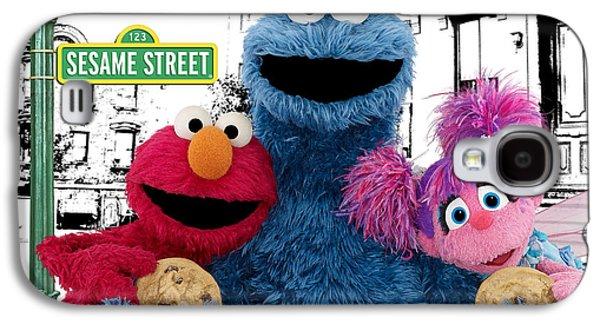 Sesame Street Galaxy S4 Case