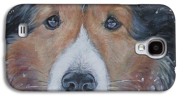 Shetland Sheepdog Galaxy S4 Case