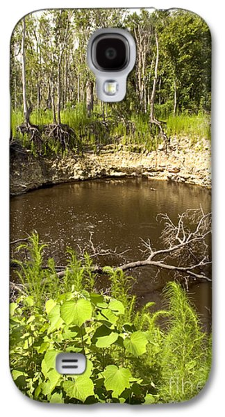 Sinkhole, Florida Galaxy S4 Case by Inga Spence