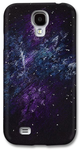Sketch Of Abstract Design Night Sky Galaxy S4 Case