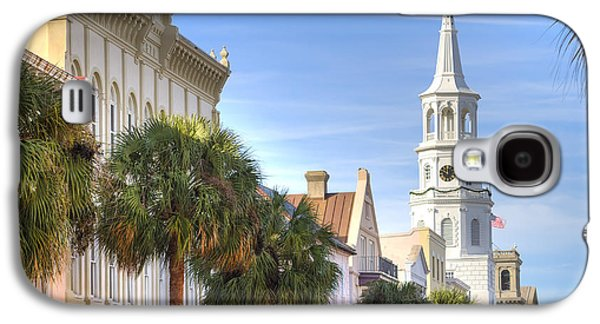 St Michaels Church Charleston Sc Galaxy S4 Case by Dustin K Ryan