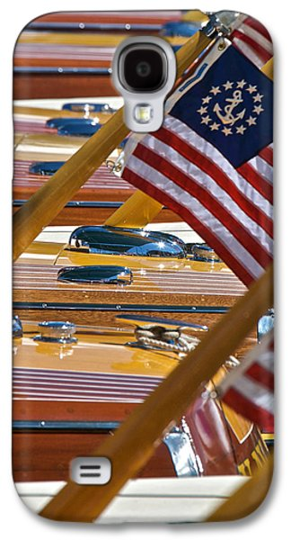 Stars And Stripes On The Water Galaxy S4 Case by Steven Lapkin
