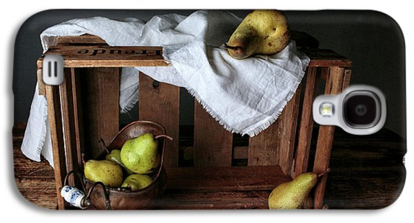 Still-life With Pears Galaxy S4 Case by Nailia Schwarz
