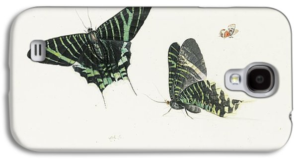 Studies Of Two Butterflies Galaxy S4 Case by Anton Henstenburgh