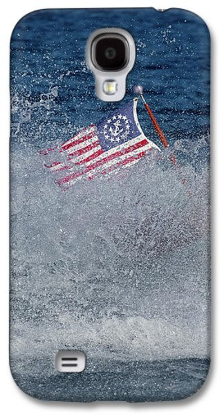 Red White Blue Galaxy S4 Case by Steven Lapkin