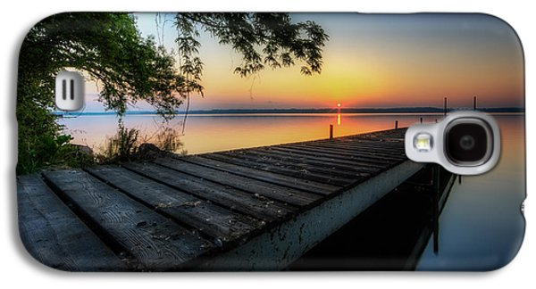 Sunrise Over Cayuga Lake Galaxy S4 Case