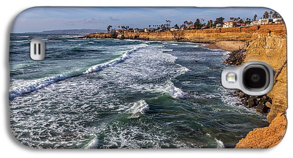 Sunset Cliffs 2 Galaxy S4 Case by Peter Tellone