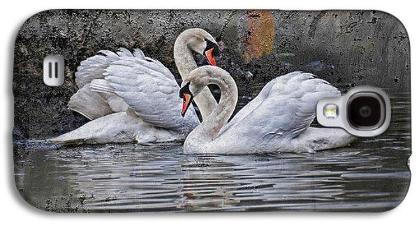 Tango Of The Swans Galaxy S4 Case by Joachim G Pinkawa