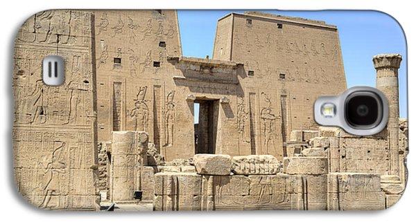 Ancient Galaxy S4 Cases - Temple of Edfu - Egypt Galaxy S4 Case by Joana Kruse