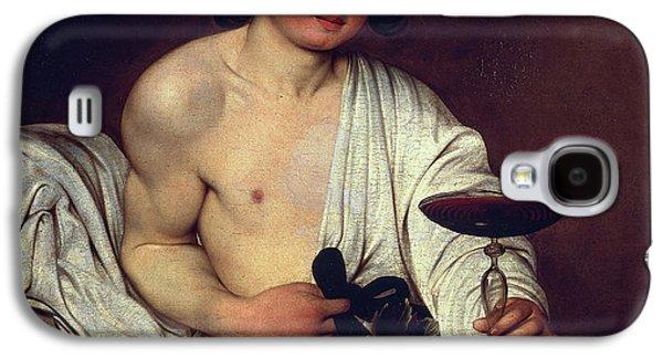 The Adolescent Bacchus Galaxy S4 Case by Caravaggio