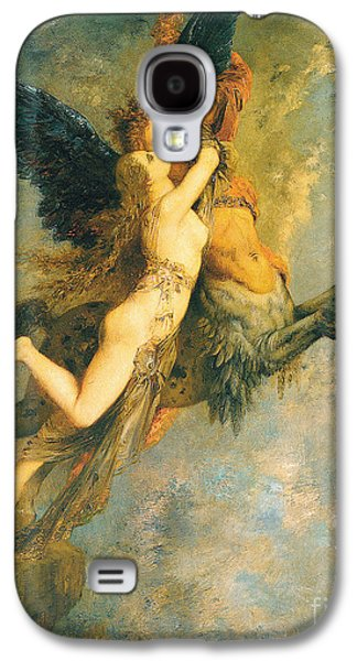 The Chimera Galaxy S4 Case by Gustave Moreau
