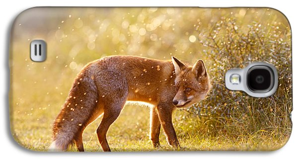 The Fox And The Fairy Dust Galaxy S4 Case