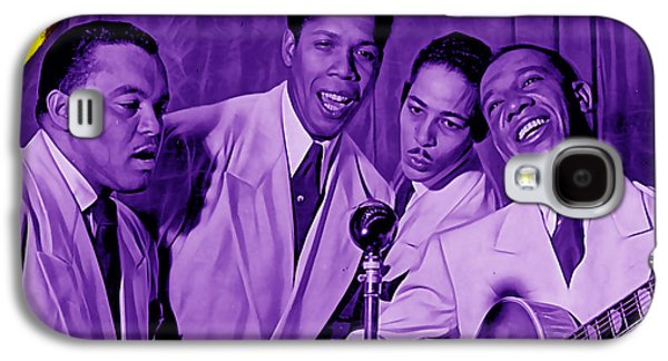 The Ink Spots Collection Galaxy S4 Case by Marvin Blaine