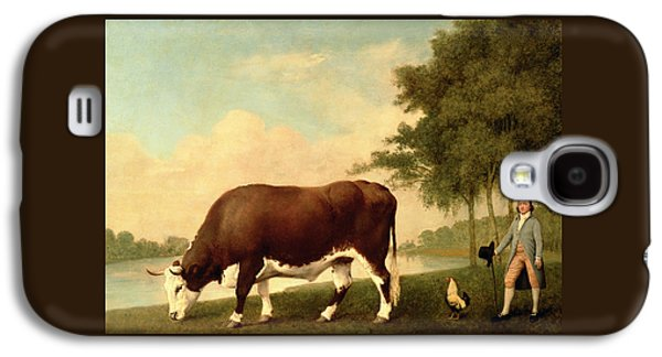 The Lincolnshire Ox Galaxy S4 Case by George Stubbs