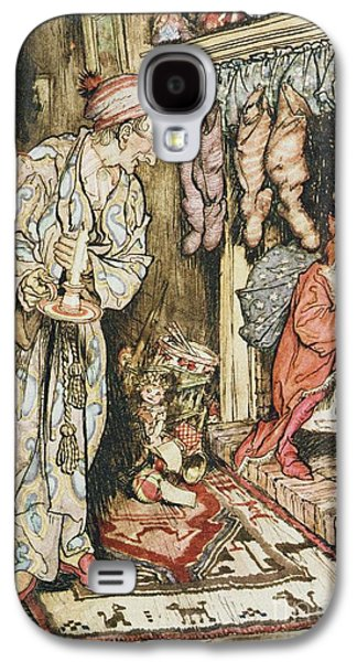 The Night Before Christmas Galaxy S4 Case by Arthur Rackham