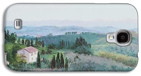The Rolling Hills Of Tuscany Galaxy S4 Case