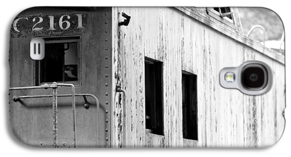 Black And White Galaxy S4 Cases - Train Galaxy S4 Case by Sebastian Musial