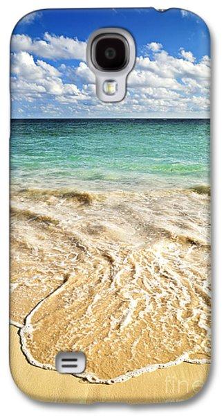 Tropical Beach  Galaxy S4 Case