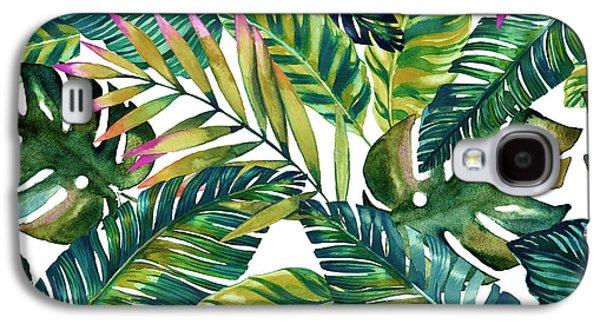 Fantasy Galaxy S4 Case - Tropical  by Mark Ashkenazi