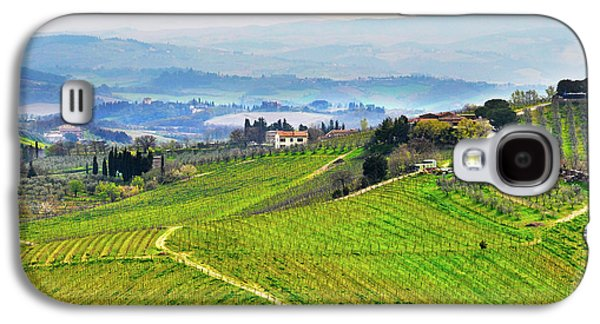 Tuscany Landscape Galaxy S4 Case by Dutourdumonde Photography