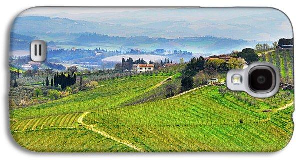 Tuscany Landscape Galaxy S4 Case